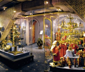 Interior view of the German Christmas Museum