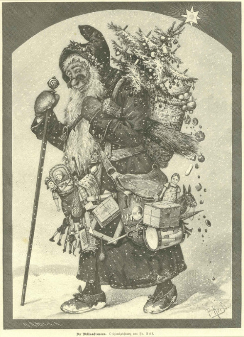 Father Christmas, art design Fr. Reiß