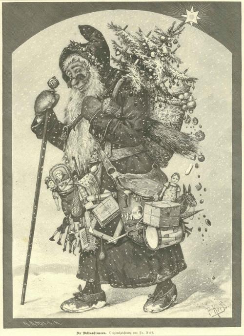 Der Weihnachtsmann, Fr. Reiß