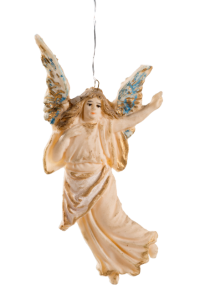 Tragacanth ornament, floating angel