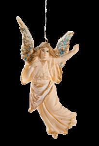 Tragacanth ornament, floating angel