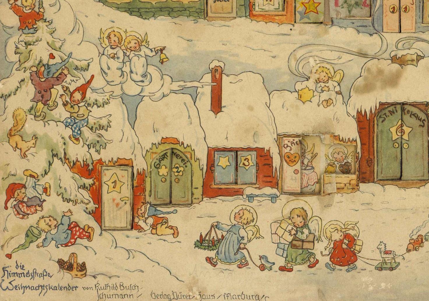 Weihnachts-Kalender, Im Lande des Christkinds, Gerhard Lang, Ernst Kepler
